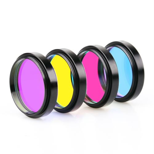 1.25''/2'' LRGB Filters Kit for Astronomy Photography